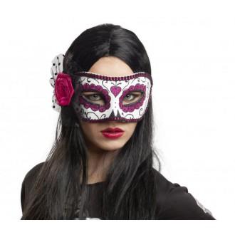 Masky - Škraboška s růží