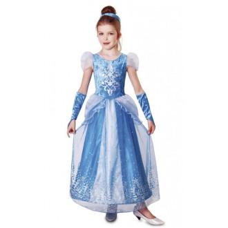 Kostýmy - Dětský kostým ledová princezna