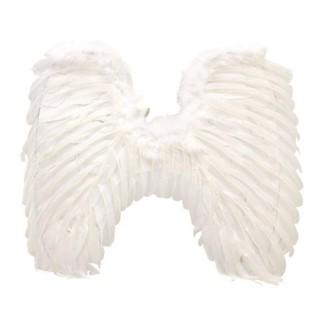 Mikuláš - Čert - Anděl - Křídla péřová