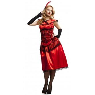 Kovbojové-divoký západ - Kostým Saloon lady