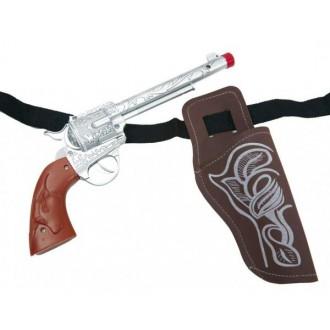 Karnevalové doplňky - Pistole s pouzdrem
