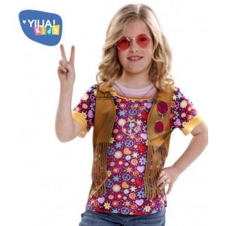 Hippie - Dětské tričko 3D Hippie