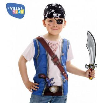 Piráti - Dětské tričko 3D Pirát