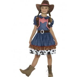 Kovbojové-divoký západ - Dětský kostým Kovbojka