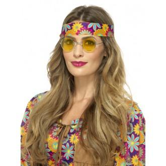 Hippie - Brýle Hippie žluté
