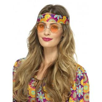 Hippie - Brýle Hippie oranžové