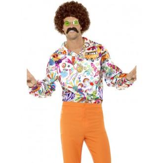 Hippie - Košile Hippie barevná