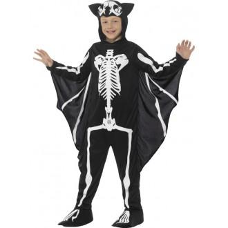 Kostýmy - Dětský kostým Kostra netopýra