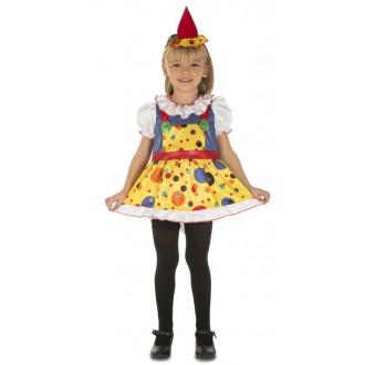 Klauni - Klaunské šaty s kloboučkem
