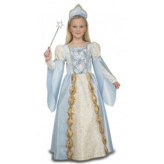 Kostýmy - Dětský kostým Modrá princezna