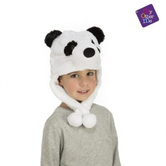 Klobouky-čepice-čelenky - Čepice Panda
