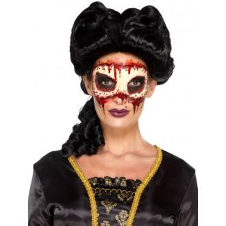 Masky - Nalepovací škraboška s lepidlem
