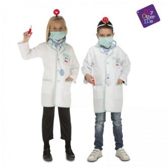 Kostýmy - Dětský kostým Doktor/ka s doplňky