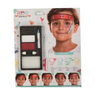 Indiáni - Make up Sada Indián