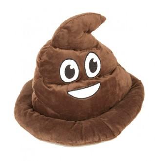 Klobouky-čepice-čelenky - Klobouk Poop Emoji
