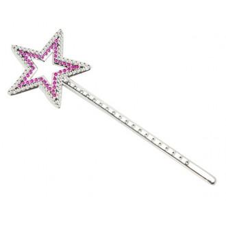 Karnevalové doplňky - Kouzelná hůlka hvězdička