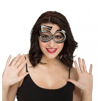 Karnevalové doplňky - Brýle s kamínky 50