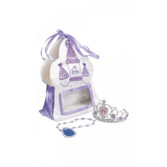 Princezny-Víly - Kabelka, čelenka a náhrdelník Sofia