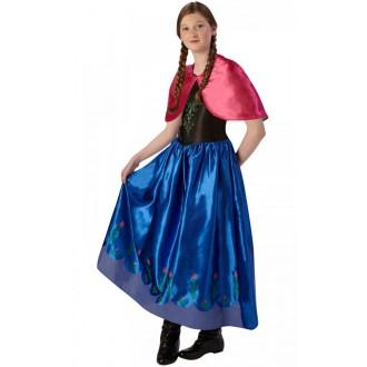 Princezny-Víly - Dětský kostým Anna - Ledové království