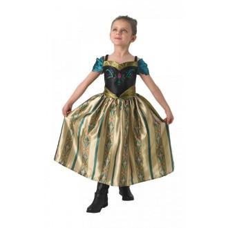Princezny-Víly - Dětský kostým Anna korunovace