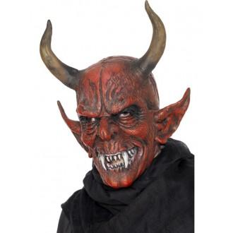 Mikuláš - Čert - Anděl - Maska čert s rohama