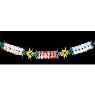 Karnevalové doplňky - Girlanda 17 x 400 cm