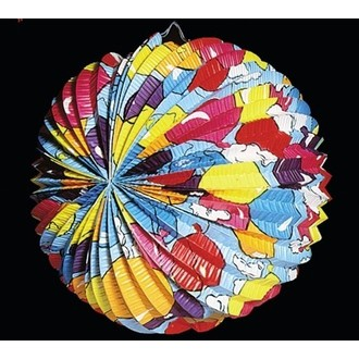Karnevalové doplňky - Lampión kulatý 30 cm