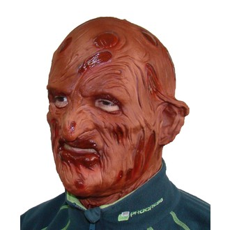 Kostýmy z filmů a pohádek - latexová maska Freddy Krueger IV