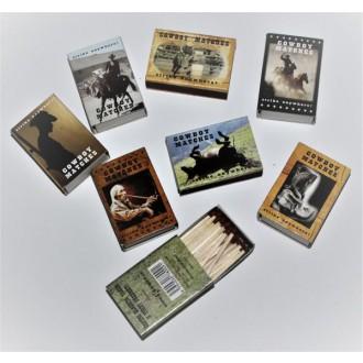 Kovbojové-divoký západ - Kovbojské zápalky