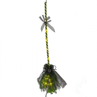 Čarodějnice - Koště svítící, zelené
