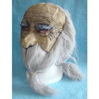 Masky - Maska s vlasy Čaroděj