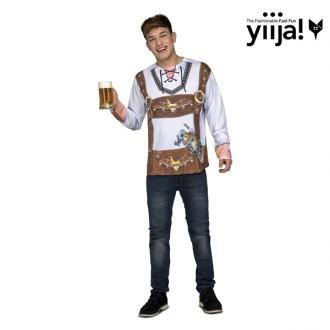 Kostýmy - Tričko 3D Oktoberfest