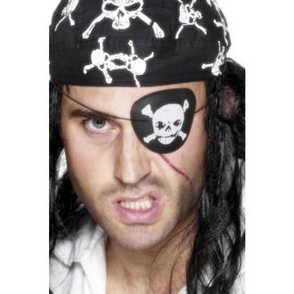 Karnevalové doplňky - Pirátská páska s lebkou