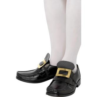 Karnevalové doplňky - Zlatá přezka na boty