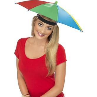 Zábavné předměty - Deštník na hlavu