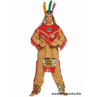 Kostýmy - Kostým Apačský náčelník
