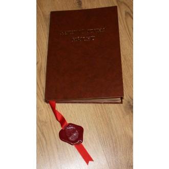 Mikuláš - Čert - Anděl - Pekelná kniha hříchů © svítící