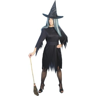 Čarodějnice - Kostým Černá čarodějnice
