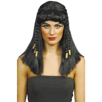 Paruky - Paruka Cleopatra černá