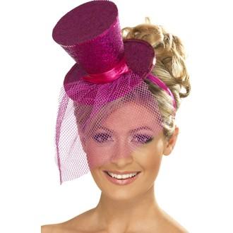 Klobouky-čepice-čelenky - Klobouk Mini růžový