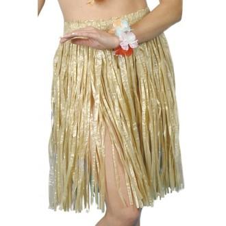Havajská párty - Havajská sukně tráva 56 cm