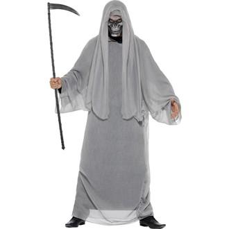 Halloween, strašidelné kostýmy - Kostým Smrťák pro dospělé
