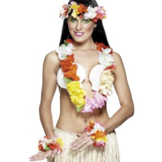 Havajská párty - Havajská sada multi deluxe