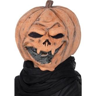 Halloween, strašidelné kostýmy - Maska Dýně