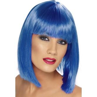 Paruky - Paruka Glam modrá