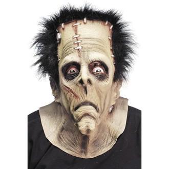 Halloween, strašidelné kostýmy - Maska Frankenstein