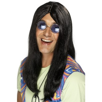 Paruky - Paruka Hippie černá