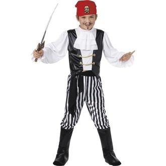 Piráti - Dětský kostým Pirát deluxe