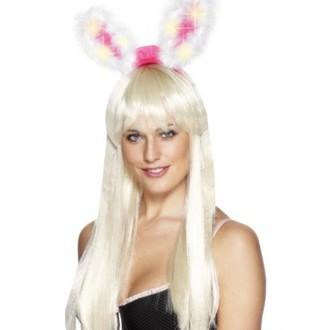 Karnevalové doplňky - Uši Zajíc svítící