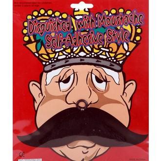Karnevalové doplňky - Knír King style černý